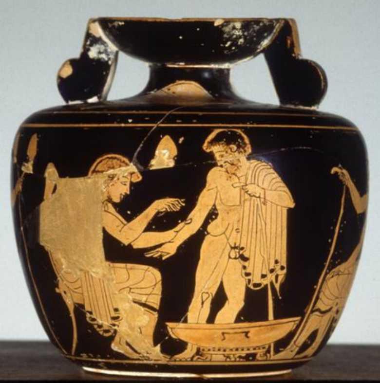 Bramarte viaggio nella storia dell 39 arte greci pittura for Vasi antichi romani