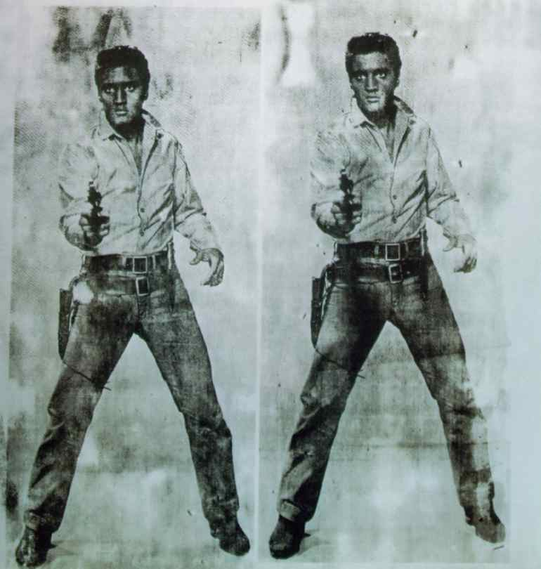 eight elvises essay Forty years ago author norman mailer published an essay in which he declared the graffiti of the new york subway to be the great art of  eight elvises- andy warhol.
